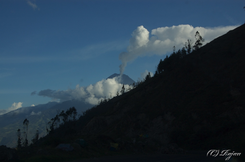 Our First Sight of Tungurahua